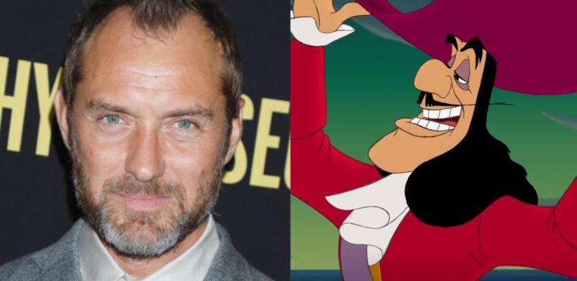 Se revelan primeras imágenes de Jude Law como el Capitán Garfio en el live-action de Peter Pan