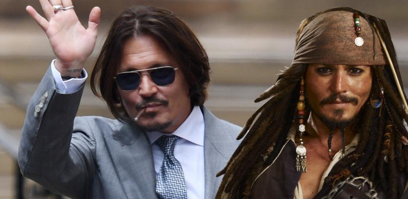 Johnny Depp dice que no extraña Piratas del Caribe porque Jack Sparrow siempre está con él