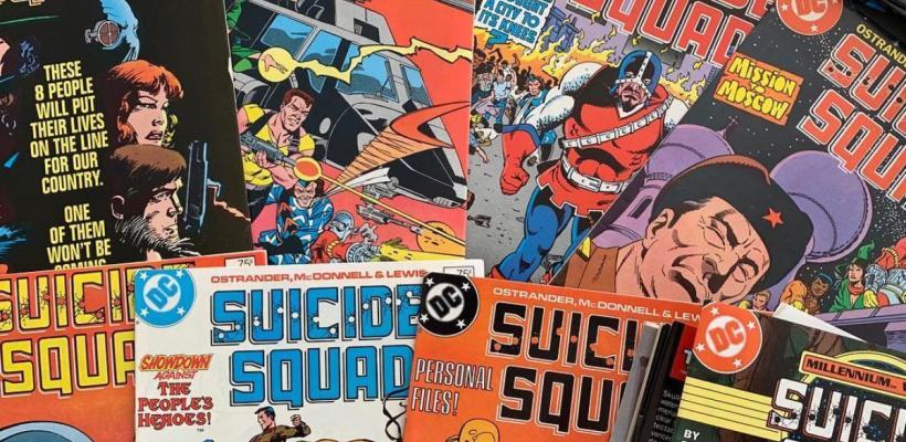 James Gunn celebró el cumpleaños del creador del Escuadrón Suicida con una foto del set