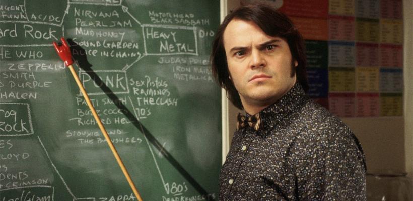 Jack Black podría estar en conversaciones para una secuela de Escuela de Rock