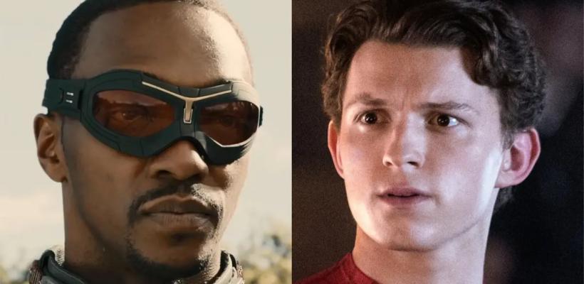 Fans de Marvel se burlan de Tom Holland porque Anthony Mackie tendrá su película como Capitán América