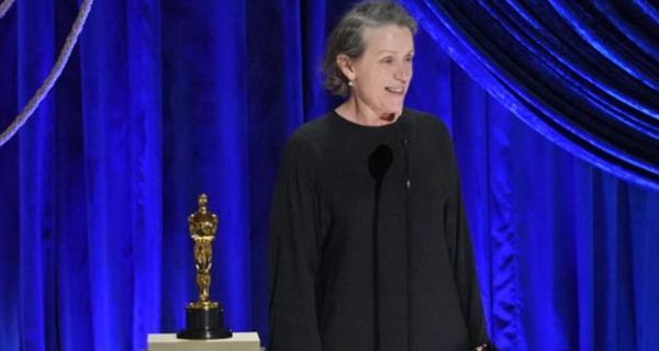 Óscar 2021: Frances McDormand gana Mejor Actriz por Nomadland