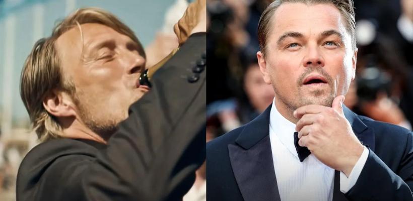 Leonardo DiCaprio es criticado en redes por tomar el papel de Mads Mikkelsen en el remake de Another Round