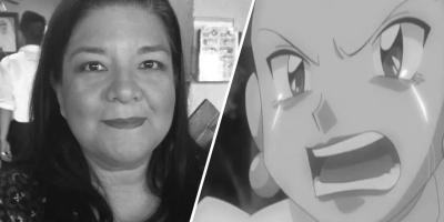 Murió la actriz de doblaje Diana Pérez, quien le diera voz a Jessie en Pokémon y a Luffy en One Piece