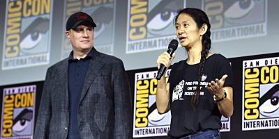 Kevin Feige alabó a Chloé Zhao y explicó por qué usan directores indie en Marvel