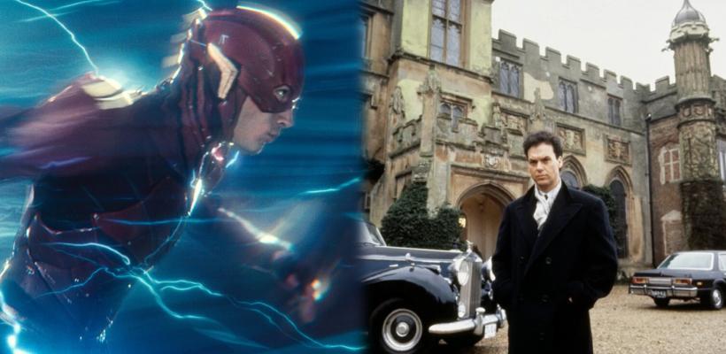 The Flash: Primeras imágenes de la Mansión Wayne del Batman de Michael Keaton