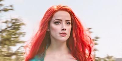 Amber Heard comparte nueva imagen desde el set de Aquaman 2