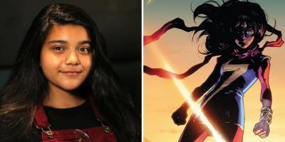 Ms. Marvel: Primeras imágenes de Iman Vellani con su traje fiel a los cómics
