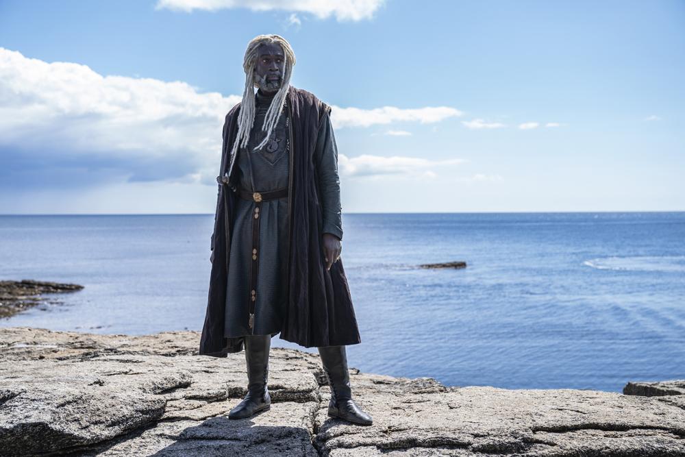 Steve Toussaint (Lord Corlys Velaryon)
