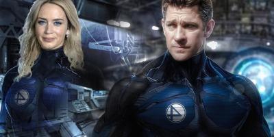 Rumor: Marvel se muere por tener a Emily Blunt y a Jon Krasinski como protagonistas de Los Cuatro Fantásticos