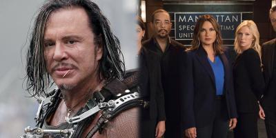Mickey Rourke dice que Marvel es basura y La Ley y el Orden es mejor