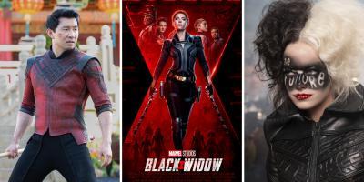 El futuro de Disney en los cines será determinado por Black Widow, Shang-Chi y Cruella