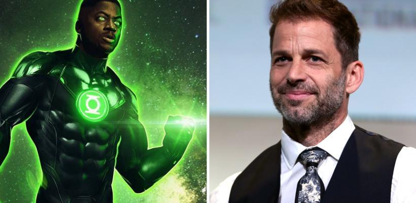 Zack Snyder dice que Green Lantern iba a tener dos roles en las secuelas de Justice League