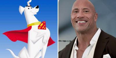 Dwayne Johnson interpretará a Krypto, el superperro en una nueva cinta animada de Warner Bros.