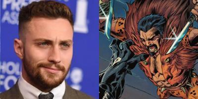 Aaron Taylor-Johnson será Kraven, el Cazador en la nueva película de Sony