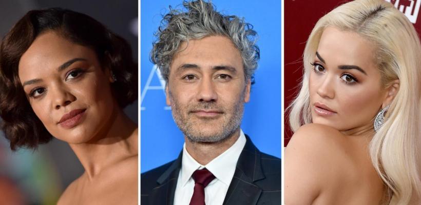 En Marvel están enojados con Taika Waititi por fotografías besando a Tessa Thompson y Rita Ora