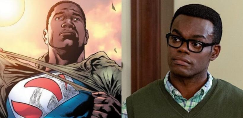 William Jackson Harper no puede creer que los fans quieran que sea Superman