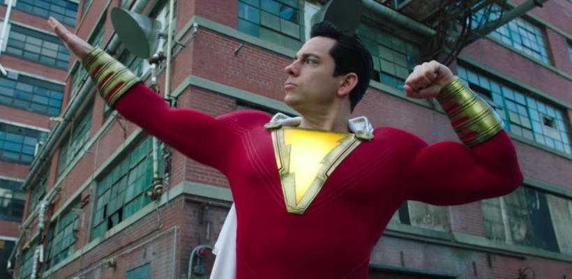 Shazam 2: imágenes filtradas revelan a Zachary Levi con nuevo traje