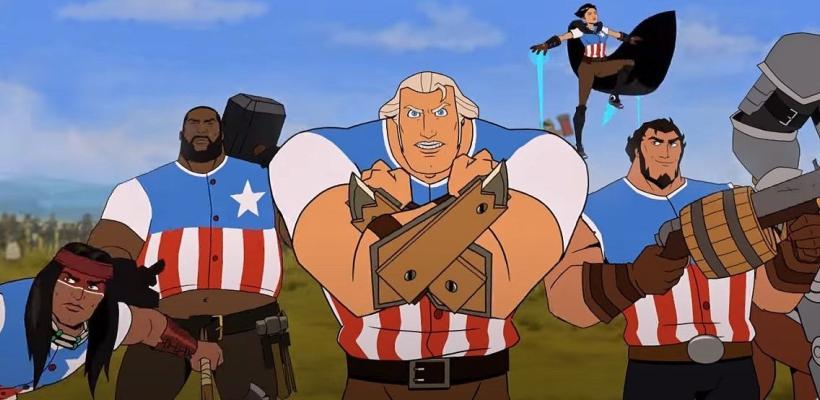 Estados Unidos: La película | Netflix lanza tráiler y nuevo póster de su película animada sobre la Revolución Estadounidense