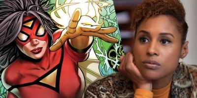 Issa Rae le va a dar voz a Spider-Woman / Jessica Drew en Into the Spider-Verse 2