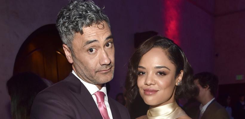 Marvel Studios estaría preocupado por la mala relación entre Taika Waititi y Tessa Thompson