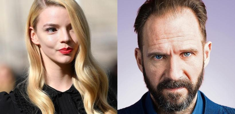 Anya Taylor-Joy compartirá créditos con Ralph Fiennes en el thriller The Menu