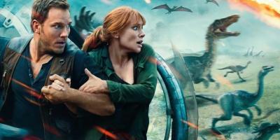 Jurassic World: Dominion revela nuevo dinosaurio en primera imagen