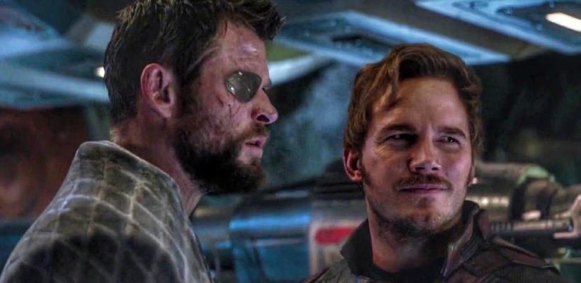 Thor: Love and Thunder | Chris Hemsworth comparte el primer vistazo a Chris Pratt como Star-Lord