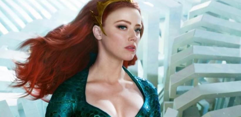 Amber Heard comparte video de entrenamiento para Aquaman and the Lost Kingdom