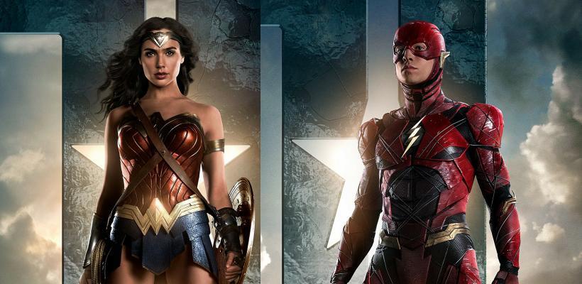 The Flash: imagen filtrada del set revela conexión con Mujer Maravilla