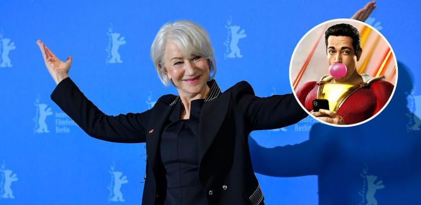 Shazam! Fury of the Gods: fotos del set revelan cómo se ve Helen Mirren como Hespera