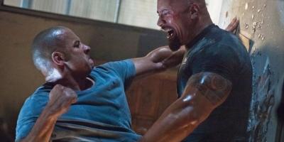 Vin Diesel dice que se peleó con Dwayne Johnson para que actuara mejor