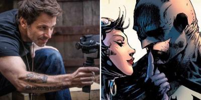 Warner Bros. habría censurado a Zack Snyder por publicar la imagen de Batman practicando sexo oral