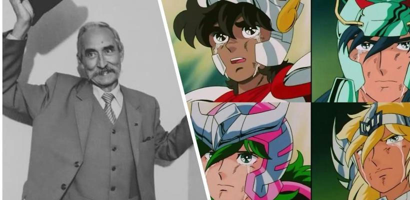Falleció el actor de doblaje mexicano Raúl de la Fuente, quien fue el narrador de Saint Seiya