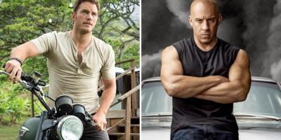 Chris Pratt habla sobre la posibilidad de un crossover entre Rápidos y Furiosos y Jurassic World
