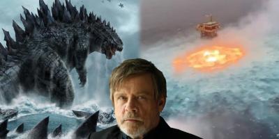 Godzilla y Pacific Rim son tendencia por el incendio en el Golfo de México, Mark Hamill dice que es el apocalipsis