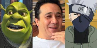Alfonso Obregón, voz de Shrek y Kakashi, es hospitalizado por infarto