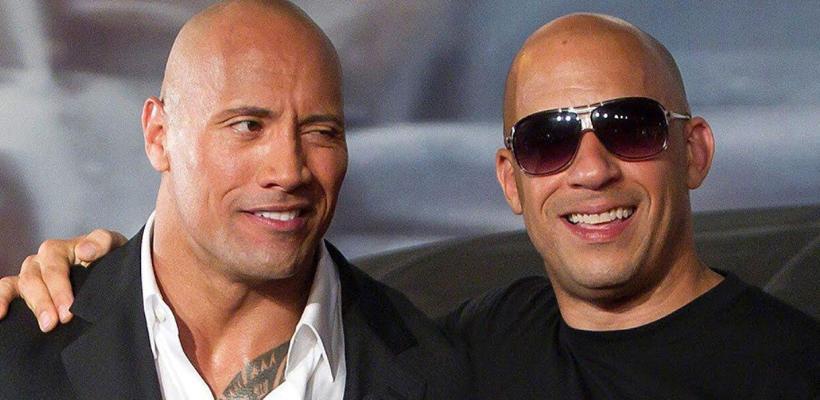 Dwayne Johnson se ríe de las declaraciones de Vin Diesel sobre impulsar las actuaciones