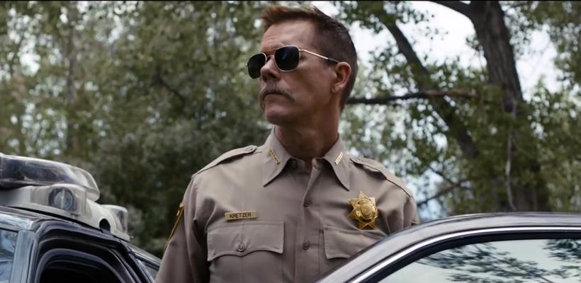 El primer trailer de Cop Car, la nueva película de Kevin Bacon