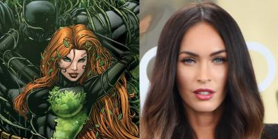 Fans de DC piden a Megan Fox como Hiedra Venenosa