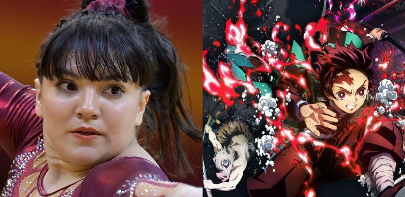 Alexa Moreno, gimnasta mexicana, presenta rutina con música de Demon Slayer en Tokio 2020