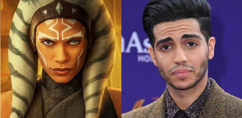 Star Wars: Rosario Dawson confirma a Mena Massoud como Ezra Bridger en serie de Ahsoka Tano