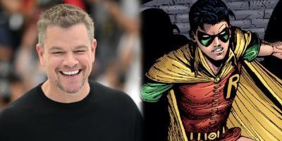Matt Damon audicionó dos veces para interpretar a Robin