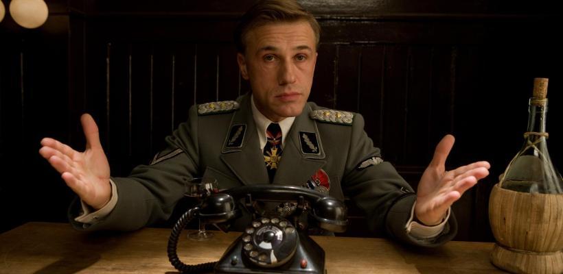 Quentin Tarantino le prohibió a Christoph Waltz ensayar con el elenco de Bastardos Sin Gloria