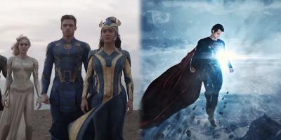 Fans de Zack Snyder acusan a Eternals de plagiar Man of Steel y se vuelven el hazmerreír de Internet