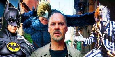 Michael Keaton recordó sus papeles más icónicos, como Batman, Beetlejuice y Birdman