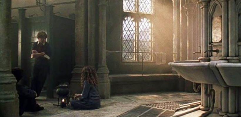 Hogwarts cuenta con el baño más caro del cine y la televisión según un estudio