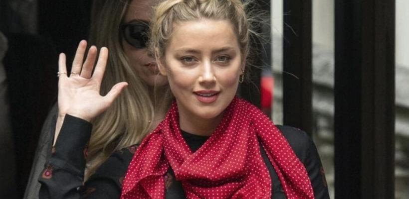 Amber Heard comparte con sus fans su regreso al teatro
