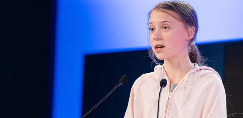 Greta Thunberg critica la falta de series y películas sobre cambio climático en Hollywood