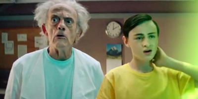 Fans de Rick y Morty piden una película live-action tras ver los anuncios con Christopher Lloyd